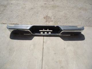 04   09 Dodge Ram Rear Bumper, Chrome, OEM Dents
