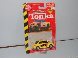 Mattel Hot Wheels Volkswagen VW Beetles Bugs 3 Count One Golf 1 Yellow