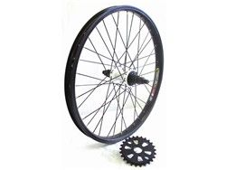 Savage BMX Bike Rear Wheel 25 9 Conversion Kit Twenty Five Nine