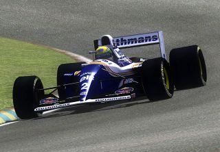 10 1994 F1 Ayrton Senna Williams FW16 RC Body for Tamiya F103 F104W