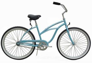 26 Beach Cruiser Bicycle Bike Orange Lady