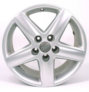 17 Audi A4 Silver Factory Wheel 2002 2008 58749