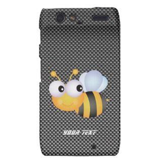 Cue Bee; Sleek Moorola Droid RAZR Cover