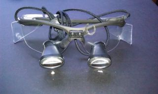 Orascoptic Dental Surgical Loupes Hires 2 Radon Black Only BEEN Used