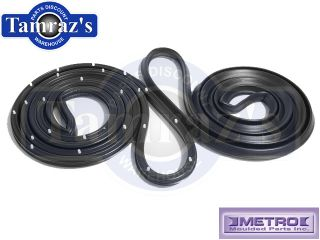 55 59 Chevy Truck 2nd Series Door Weatherstrip Seals LM13 D New