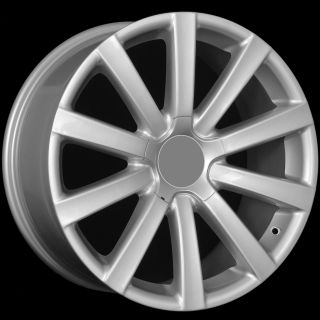 19 VW R32 Style Silver Wheels Rims Fit VW Jetta MKV Mkvi Passat B6 CC