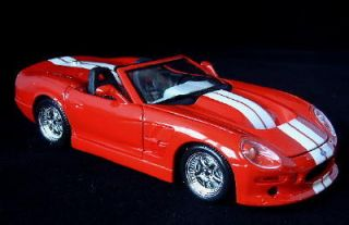 1999 Shelby Series 1 Maisto Diecast 1 18 Scale Red