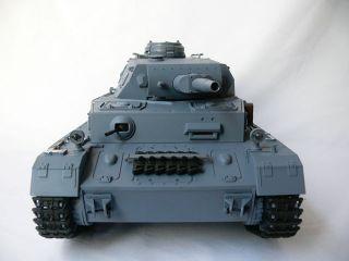 New 1 16 RC s s Panzer IV Tank Plus Metal Upgrade Kit
