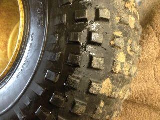 ATC 250R 250 R Complete Front Wheel Rim Tire Dunlop 22 x 11 8