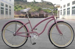 26 Beach Cruiser Bicycle Bike Firmstrong Lady Bella White