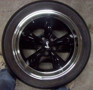 315 35 R18 Tires with Bullitt Deep Well Cobra Rims Fits Mustang