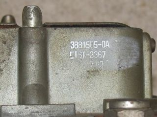 You are bidding on a used Holley Carb for a 1966 67 Corvette & Nova