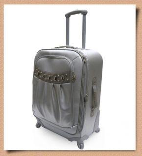Kathy Van Zeeland Monte Carlo 21 Carryon 17 Satchel Luggage Set w