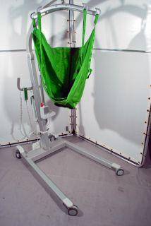 Hill ROM Liko Viking XL Patient Lift w Sling 660 lb Cap