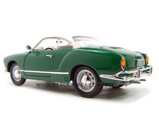 1966 VW Volkswagen Karmann Ghia Green 1 18 Model