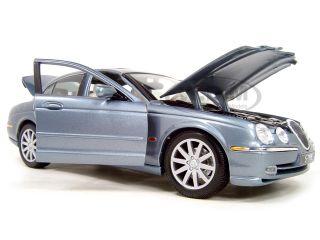 1999 Jaguar s Type Blue 1 18 Diecast Model Car by Maisto 31865