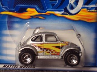 Hot Wheels 2001 Collectors Series Baja Bug Silver 174