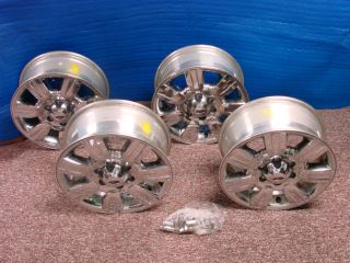 11 Ford F150 Factory Chrome Clad Wheel Rims 3785 AL3J 1007 CA