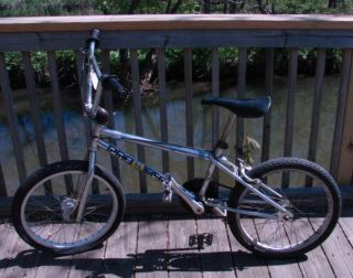 1993 GT Crown Pro Series 20 BMX Bike Bicycle Four Bolt Gooseneck Pad