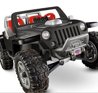 New Fisher Price Jeep Hurricane Monster Traction Battery Powered Ride