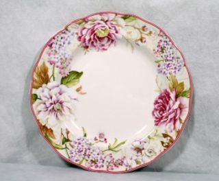 222 Fifth Jennifer Fine China Round Dinner Plate New