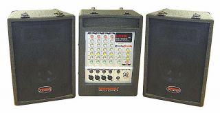Nady PA 4180 Ensemble Portable PA Speaker Sound System