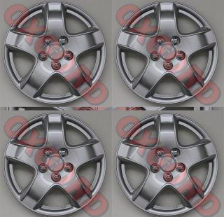14 Inch Fit Hub Caps Silver Lug Full Skin Rim Cover for Steel Wheel