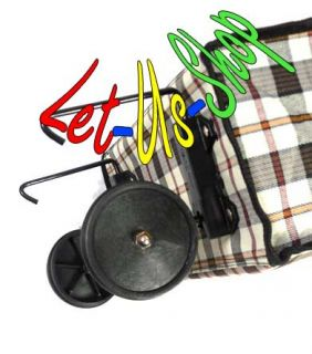 NEW Shopping , Laundry , Cart Trolley bag, Folding Wheels