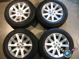 Ford Flex Factory 18 Wheels Tires Rims 3769 235 60 18 Goodyear