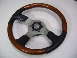 Momo Combi Wood Leather Original Steering Wheel