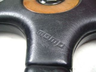 Momo Wood Half Leather Original Steering Wheel