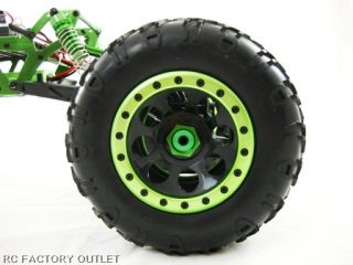 Huge Rock Crawler Tyres with Alloy Outer Secured by 18 Hex Screws