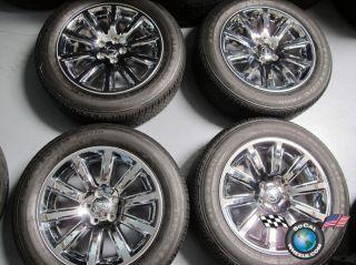 300 300C Factory Chrome Clad 18 Wheels Tires Rims 2418 Charge