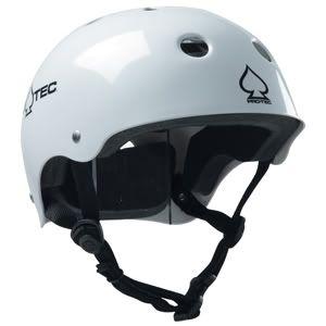 Pro Tec Classic CPSC Skate Bike Helmet White s M L XL