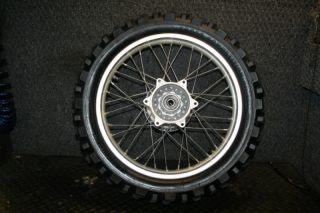 CRF230 CRF 230 Rear Wheel Rim Hub Spokes Tire