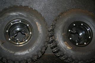 2005 Yamaha Blaster ITP Beadlocks Rear Wheels Rims