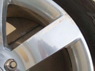 SS Wheel Tire Rim TPMS Rims Wheels RSA 20 255 50 R20 Polished