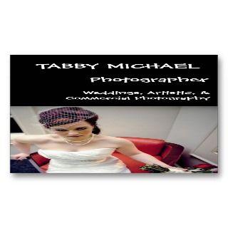 , ABBY MICHAEL, Phoographer, Weddings, ArBusiness Card emplae