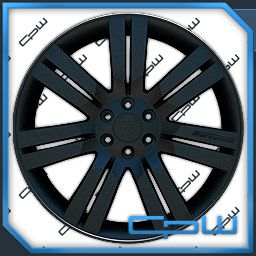 Escalade Rims Wheels 24 by Marcellino Gloss Black ESV Ext 07 08 09 10