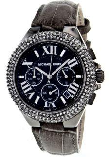 Michael Kors Ladies  Camille  Black Glitz Chronograph Watch MK5666