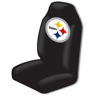 Pittsburgh Steelers Seat Cover Bucket NFL Licensed Single Easy Slip on