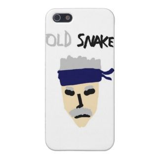 Metal Gear Solid 4 Guns of the Patriots Old Snake iPhone 5 Case