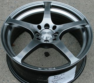 Kyowa 210 17 Silver Rims Wheels Civic Integra Sentra