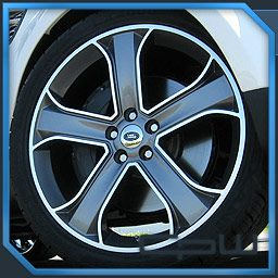 Supercharged 22 inch Wheels Rims Tires Package Deal Gunmetal