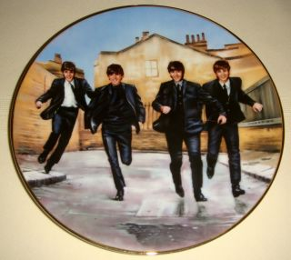 Delphi The Beatles A Hard Days Night Plate MIB COA