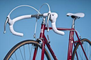 Lauer Vintage Race Bike Handmade Columbus SL Campagnolo Mavic Cinelli