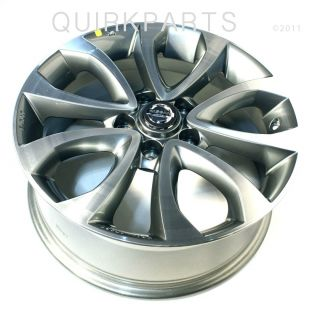 2011 Nissan Juke 17 Alloy Wheel Gunmetal Genuine OE New