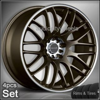 19 Wheels Tires Tenzo Type M Rims Lexus Subaru EVO
