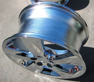 FACTORY LEXUS IS250 IS350 CHROME WHEELS RIMS EXCHANGE YOUR STOCK OEM