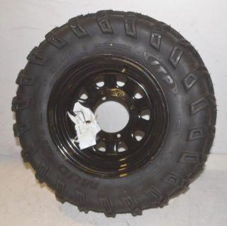 ITP 25x8 12 Mud Lite ATV Tire with Black Rim